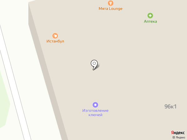 Люкс на карте Москвы