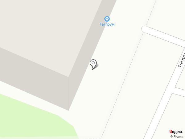 Парадиз на карте Мытищ