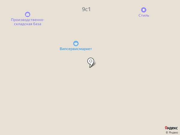 Ателье мягкой мебели на карте Москвы