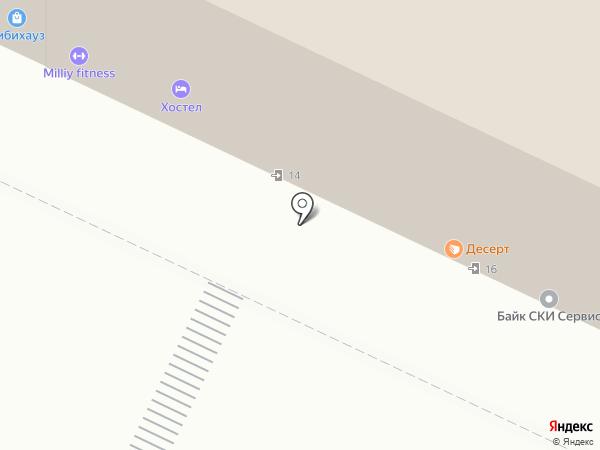 СВК на карте Москвы