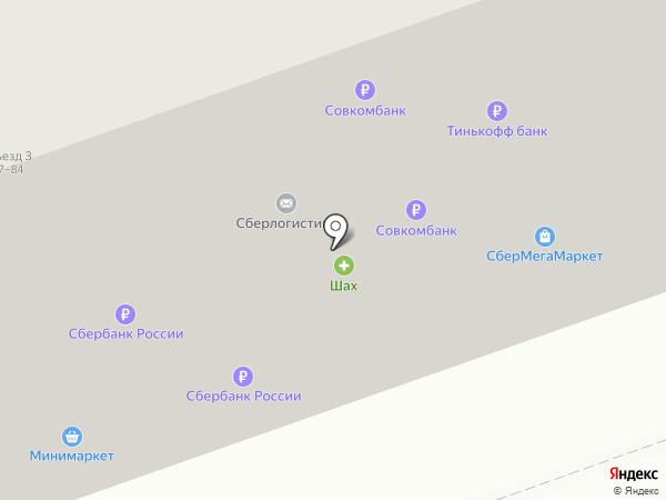 Казан на карте Москвы