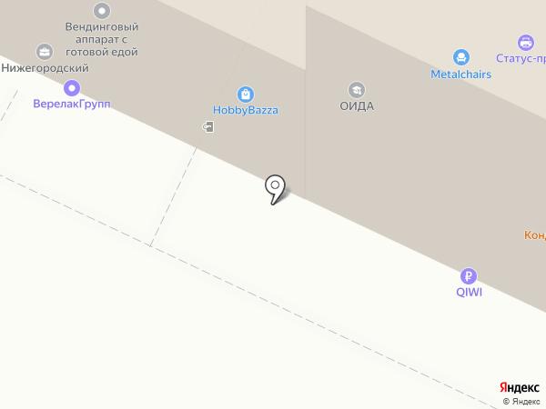 Turnik-MSK на карте Москвы