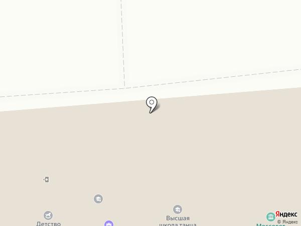 Гол на карте Москвы