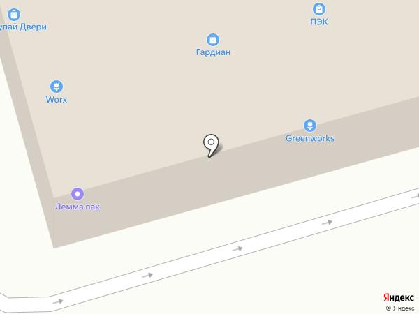 Купер на карте Москвы