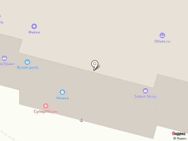 Bellagio на карте Москвы