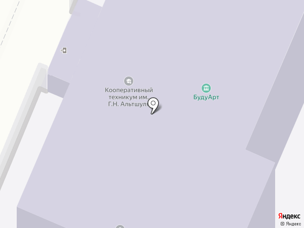 Московский кооперативный техникум им. Г.Н. Альтшуля на карте Мытищ