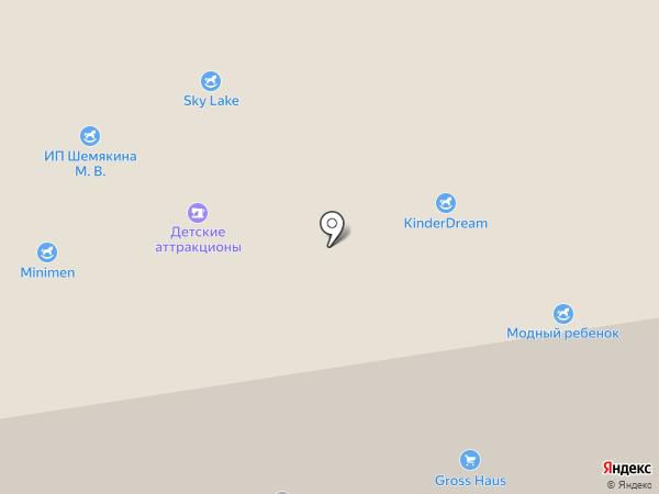 Магазин товаров для новорожденных на карте Москвы