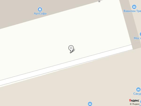 Магазин автозапчастей на карте Москвы