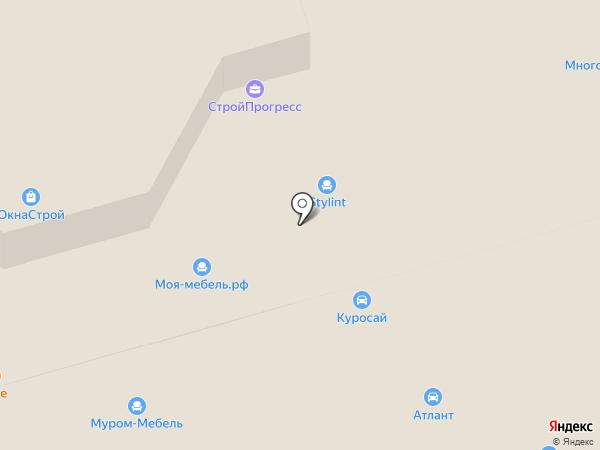 Габарит на карте Москвы