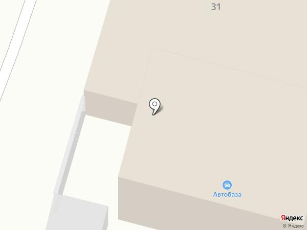 Автобаза 2.0 на карте Москвы
