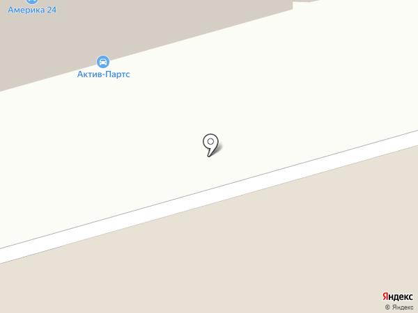 Автобан на карте Москвы