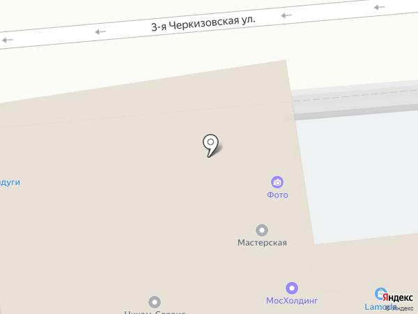Оконный Континент на карте Москвы