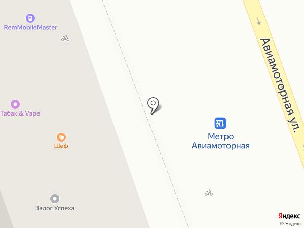 Ноу Пейпер на карте Москвы