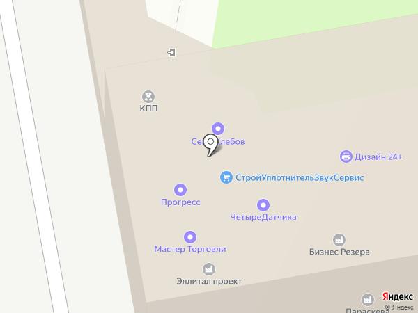 Мастер Торговли на карте Москвы