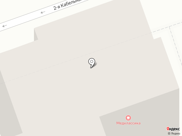 Медклассика на карте Москвы