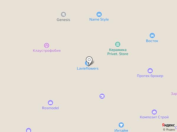 Автодизайн на карте Москвы