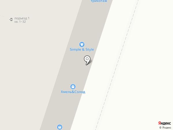 Лефортово на карте Москвы