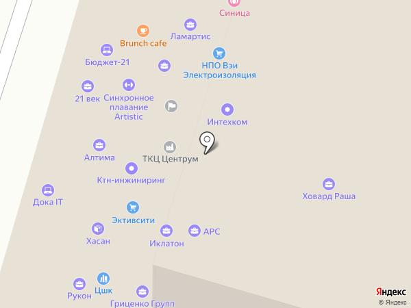 СК Давыдов на карте Москвы