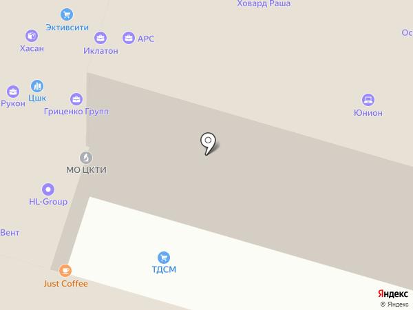 МТК-Технология на карте Москвы