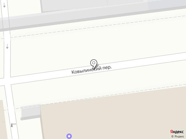 Магазин хлебобулочных изделий на карте Москвы
