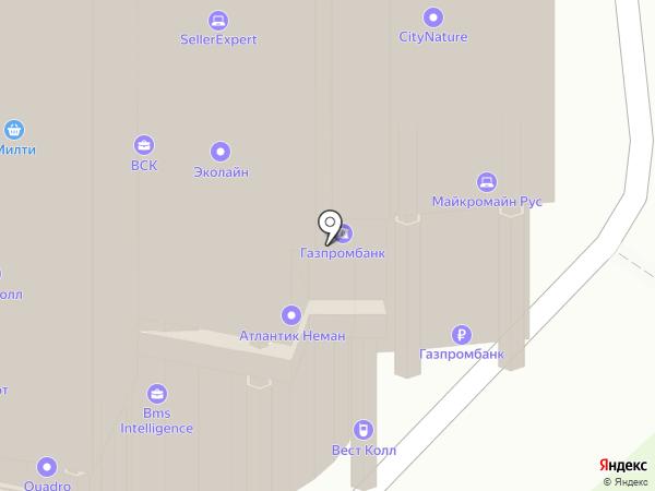 Предо на карте Москвы