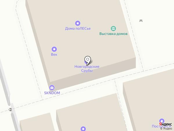 СКБлок на карте Москвы