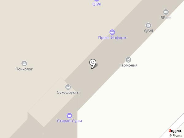 Пресс-информ на карте Мытищ