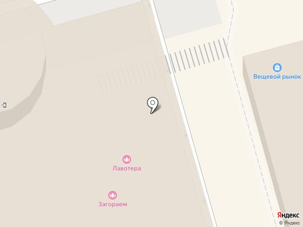 Лавотера на карте Москвы