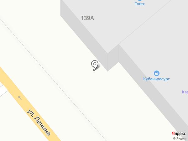Магазин-салон дверей на карте Новороссийска