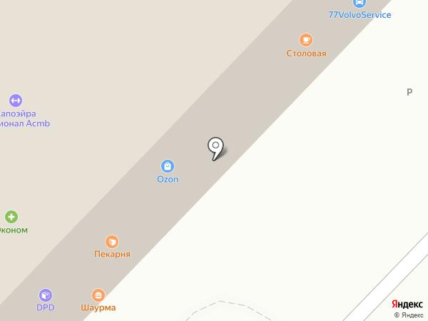Service Volvo на карте Мытищ