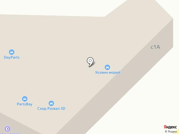 Partsbay на карте Пирогово