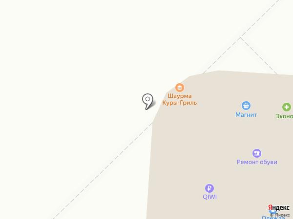 Киоск фастфудной продукции на карте Мытищ