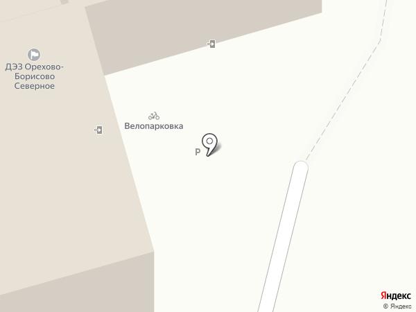 Жилищник района Орехово-Борисово Северное, ГБУ на карте Москвы