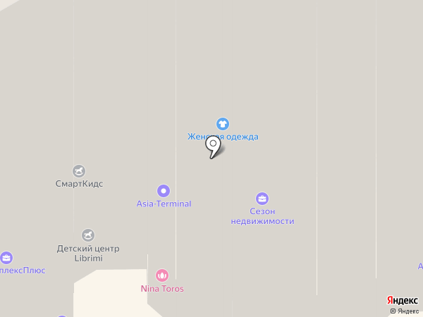 Березовая роща на карте Видного