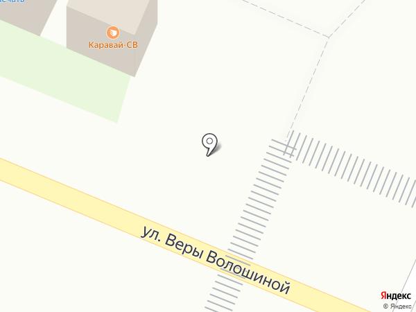 Каравай СВ на карте Мытищ