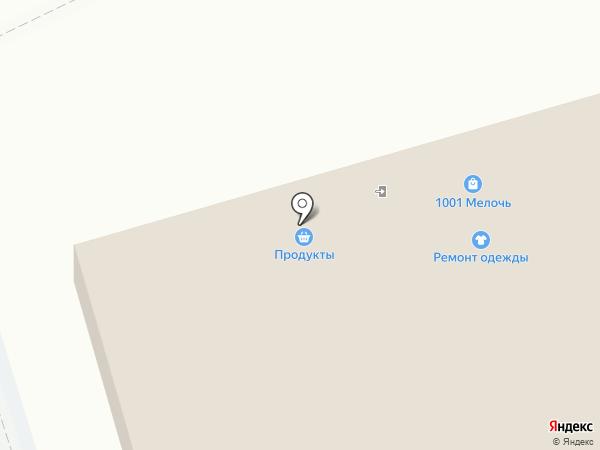 Магазин фруктов и овощей на карте Москвы