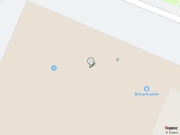Магазин одежды на карте Мытищ