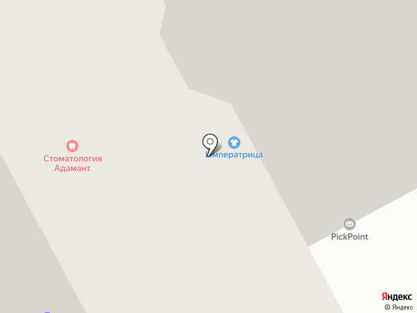 Адамант на карте Видного