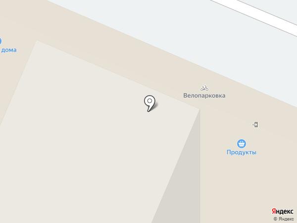 Август на карте Мытищ