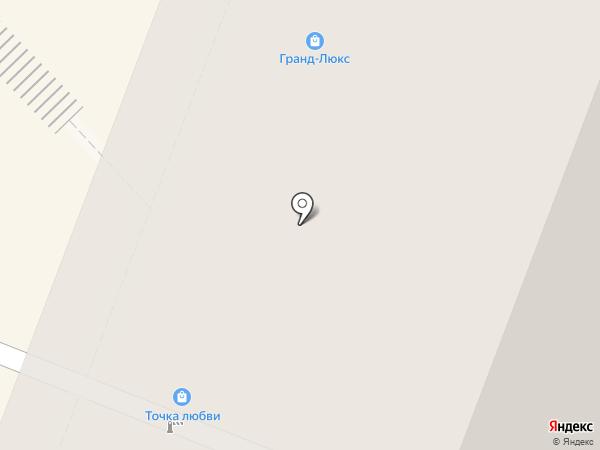 Гранд люкс на карте Москвы