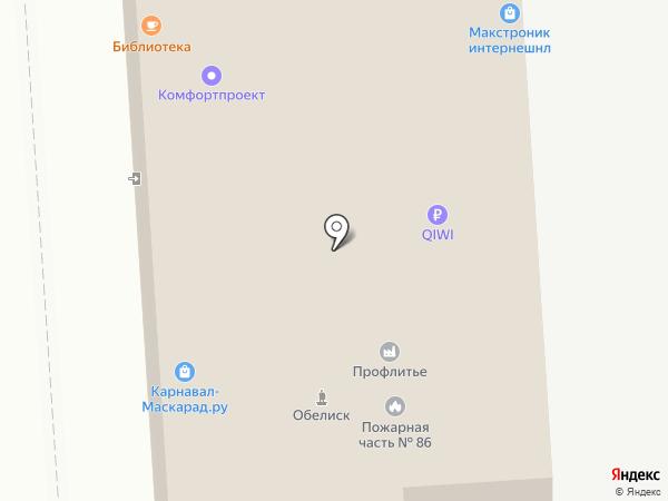 Карнавал-Маскарад на карте Москвы
