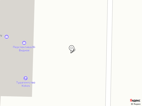 Kokos на карте Видного