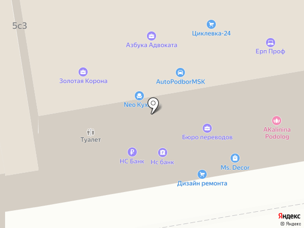 Primavera на карте Москвы