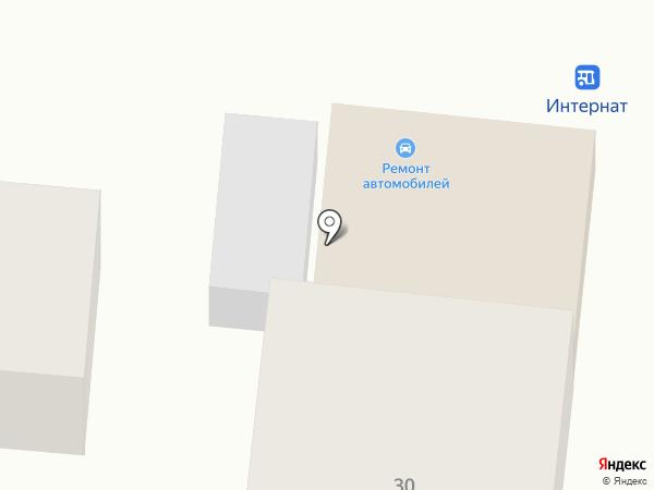 Шиномонтажная мастерская на карте Видного