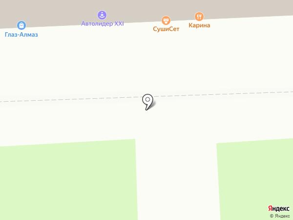Подружка на карте Москвы