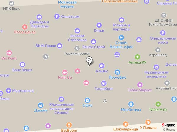 ЗаводЗаборов на карте Москвы