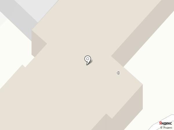 Сеть отелей на карте Новороссийска