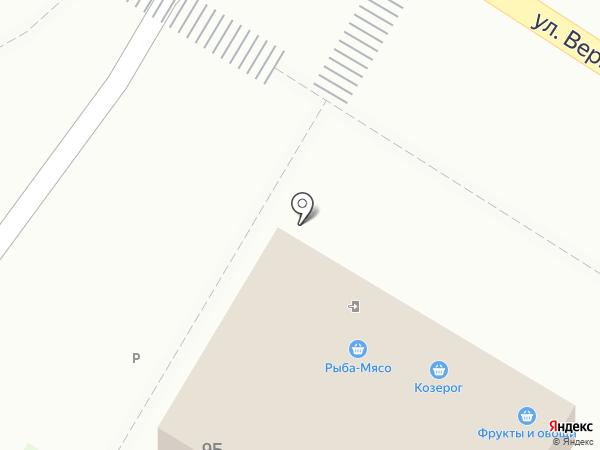 Магазин мясной продукции на карте Мытищ