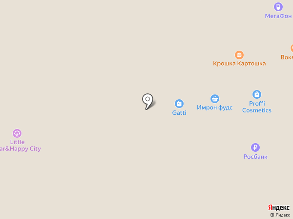 Эстель Адони на карте Москвы