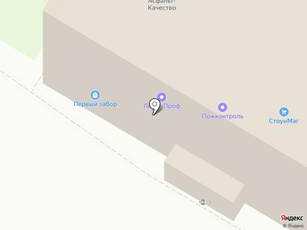 Лавр на карте Москвы